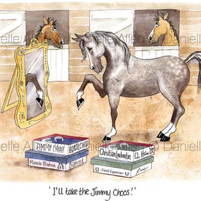 Funny Horse Prints